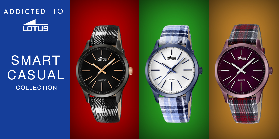 Smart Casual Lotus Watches